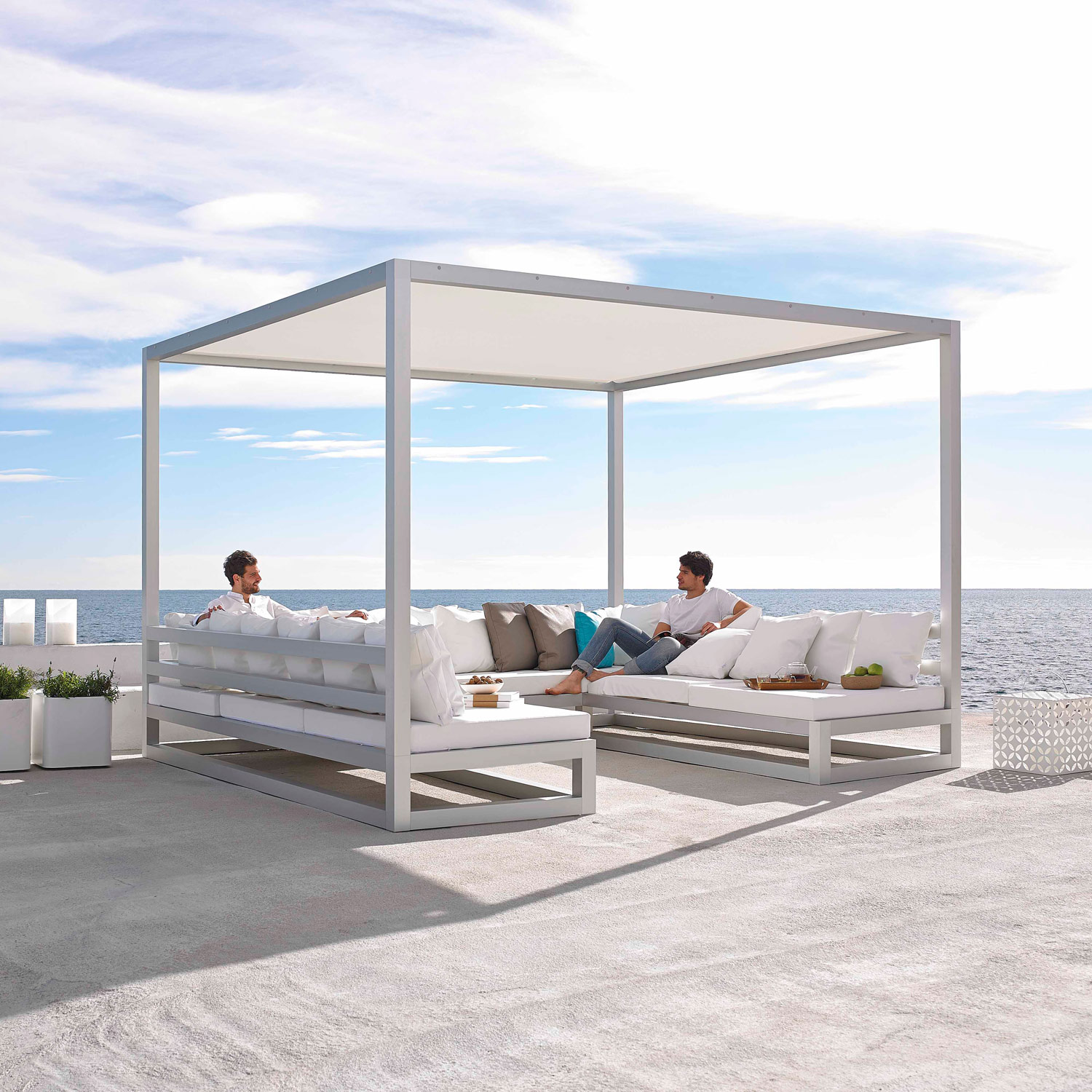 Pergola Sofa Er Loungemøbler Haven I Det Flotteste Design